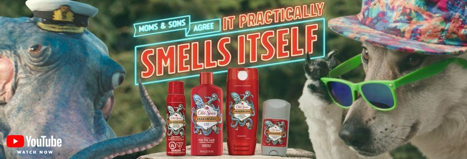 Mom's and Son's agree that Old Spice Krakengärd practically smells itself.