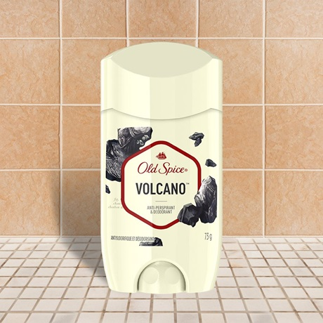Invisible Solid Antiperspirant for Men Volcano Scent | Old Spice