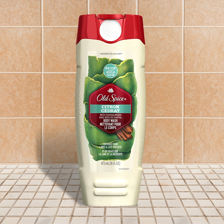 Citron Fresher Collection Body Wash