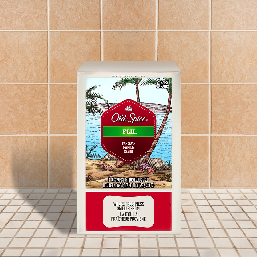 Old Spice Fresh Collection Fiji 6-Bar