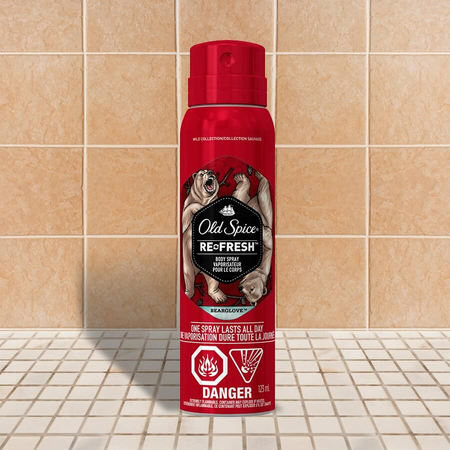 Old Spice Wild Collection Bearglove Body Spray