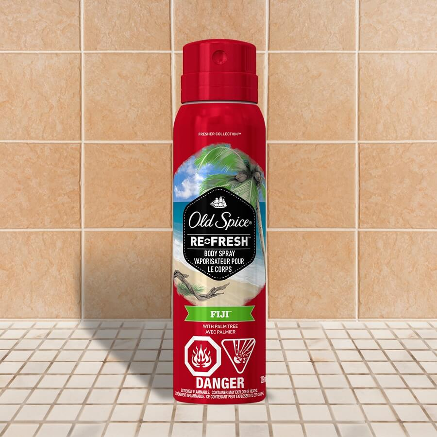 Old Spice Fresher Collection Fiji Body Spray