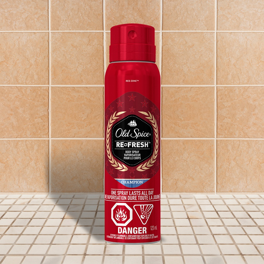 Old Spice Red Zone Champion Body Spray