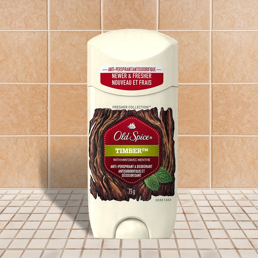 Old Spice Fresher Collection Timber Invisible Solid  Antiperspirant & Deodorant