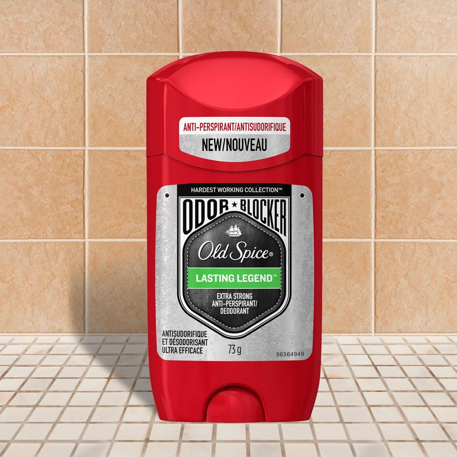 Legend Odor Blocker Lasting Legend Antiperspirant