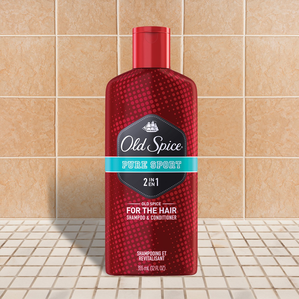 Pure Sport Red Zone Collection 2-In-1 Shampoo And Conditioner