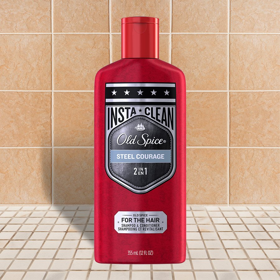 Steel Courage 2-in-1 Shampoo and Conditioner