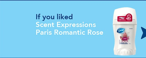 Scent Expressions Paris Romantic Rose