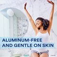 Aluminum-Free and gentle on skin