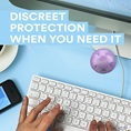 Discreet protection when you need it