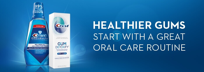 Healthier Gums start with a great Oral Care Routine