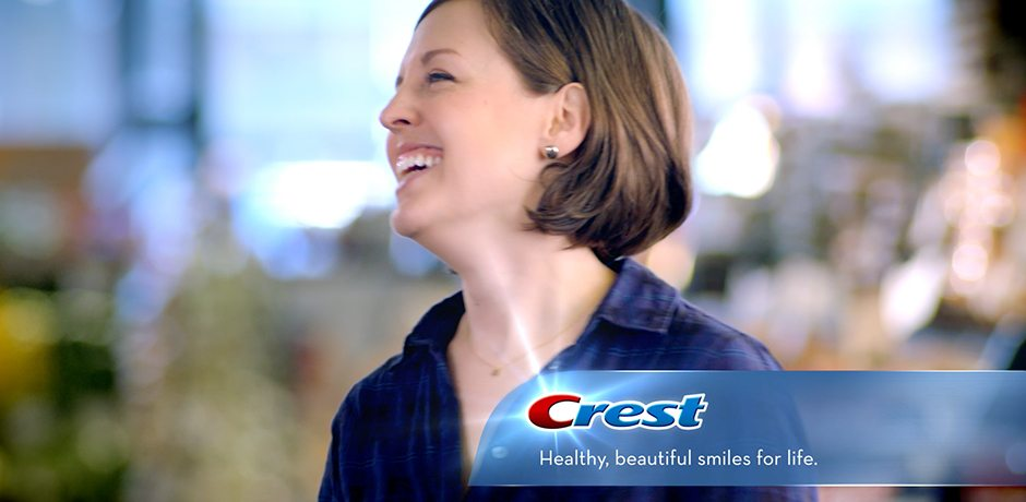 WATCH OUR TV COMMERCIAL FOR CREST [HD]