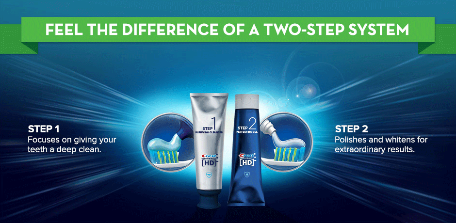 Feel the difference of a 2-step system.