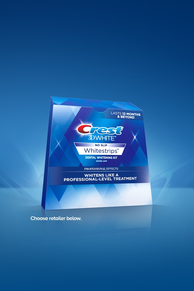 Crest 3D Whitestrips Coupon