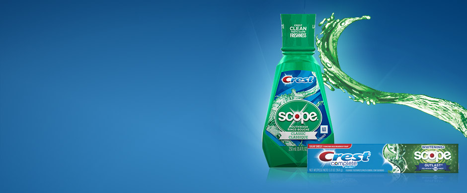 Crest Scope Freshen Breath
