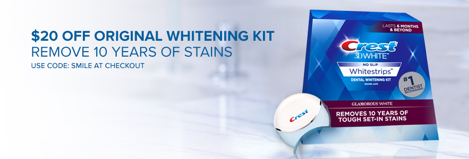 Whitens 25X better than a leading teeth whitening toothpaste