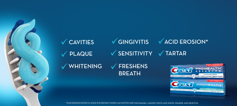 Advance to Healthier Gums and Stronger Teeth from Day 1 with Continued Use.