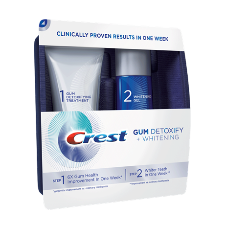 crest gum detoxify whitening two step toothpaste