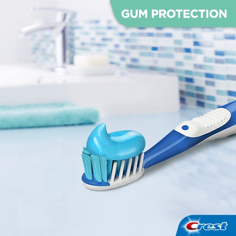 crest pro health clinical gum protection soothing smooth mint toothpaste
