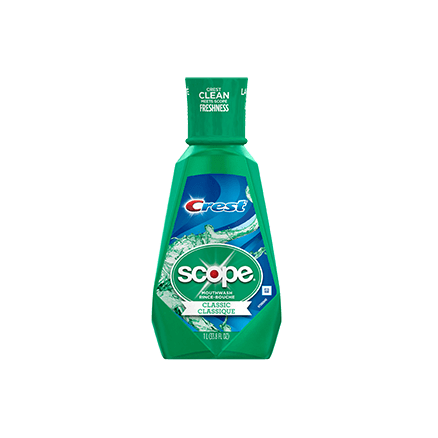 Crest Scope Mouthwash Original Mint Flavor