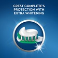 Crest complete's protection with extra whitening
