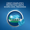 Crest complete's protection meets scope cool freshness