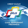 Crest clean plus cool peppermint freshness