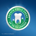 Crest breath feels fresh - up to 7 times longer