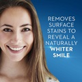 Crest removes surface stains to reveal a naturally whiter smile