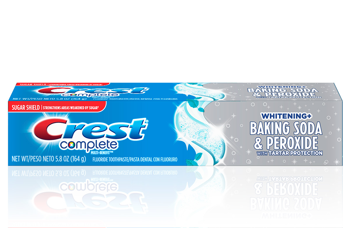 Crest Complete Whitening + Baking Soda & Peroxide Toothpaste
