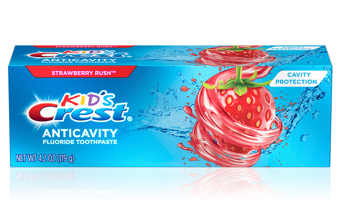 Kid's Crest Cavity Protection Strawberry Rush Toothpaste