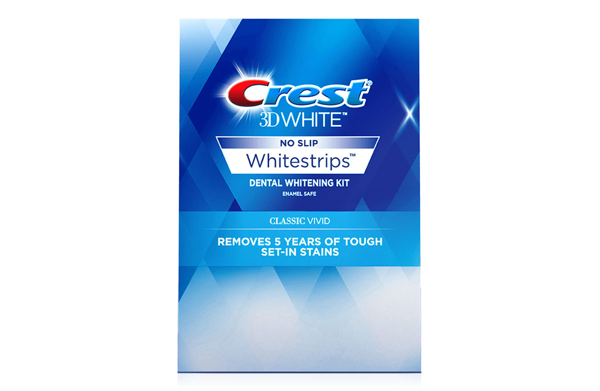 photo relating to Crest White Strips Coupon Printable named Crest 3D White Whitestrips Clic Vibrant Whitening Package