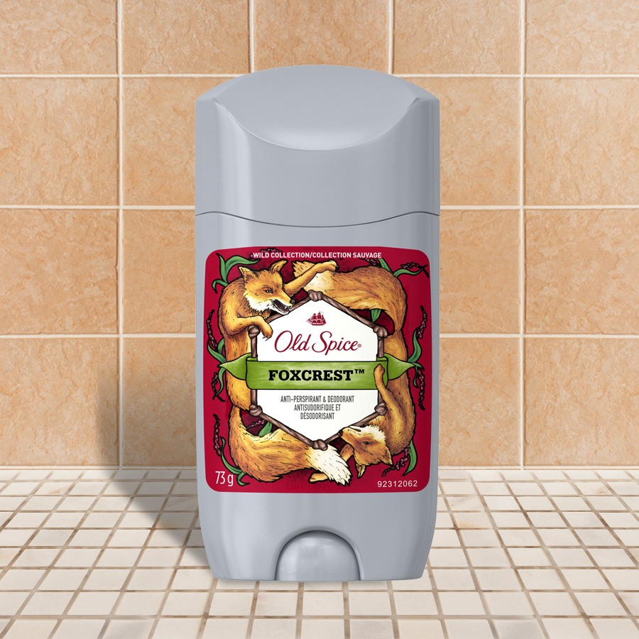 Invisible en bâton Old Spice collection Sauvage Foxcrest